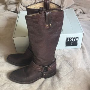 Frye Tall Pull-On Boots
